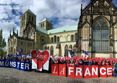 Münster aime la France